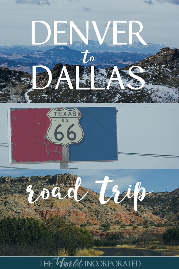 Denver to Dallas road trip ideas
